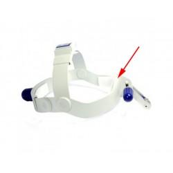Fascetta adesiva sagomata in velcro a strappo per spugna frontale