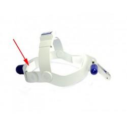Fascetta adesiva sagomata in velcro a strappo per fissaggio spugna posteriore