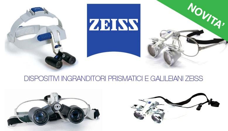ZEISS sistemi ingrandenti prismatici e galileiani
