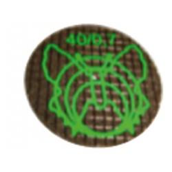 Dischi separatori rinforzati 40 x 0,7 mm