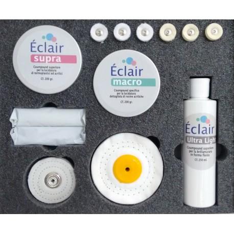 ECLAIR Premium - cofanetto per rifinitura e lucidatura