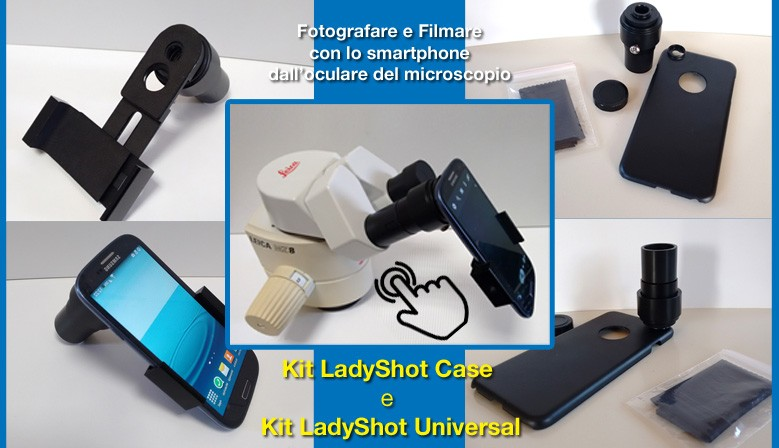Kit Lady Shot Case e Lady Shot Universal per smartphone