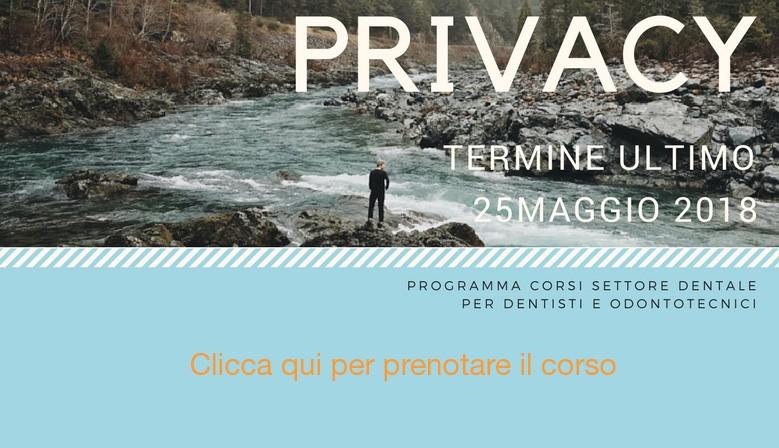 Corsi adeguamento Normativa Privacy GDPR