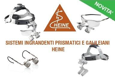 Sistemi ingrandenti prismatici e galileiani HEINE
